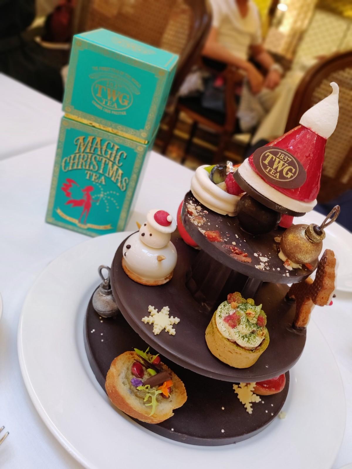 バンコクの有名カフェ!高級紅茶専門店TWG期間限定CHRISTMASアフタヌーンティーに行ってみた!